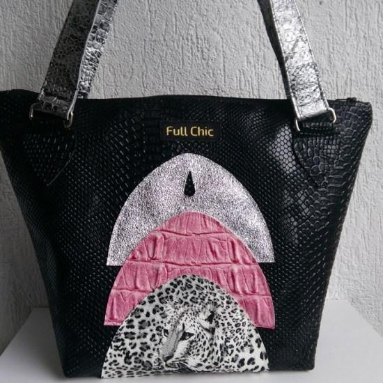 sac arcada leo gris rose argent