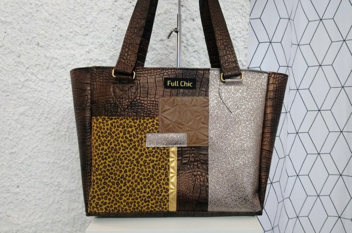 sac patch leopard ocre