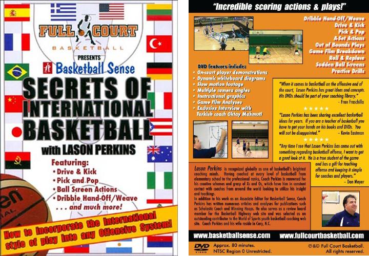 Secrets of International Basketball with Coach Lason Perkins