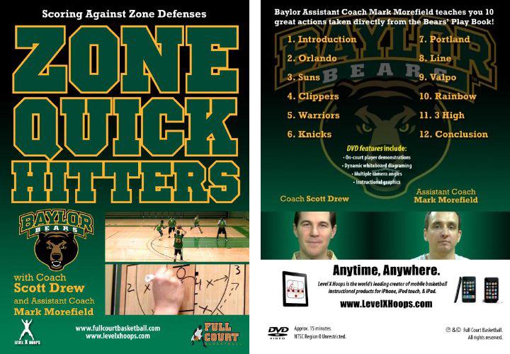 Zone Quick Hitters with Coach Scott Drew