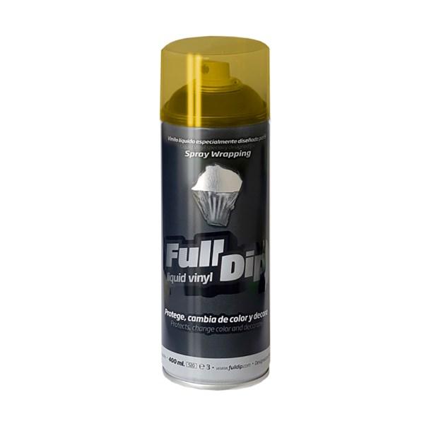 Vernice removibile spray GIALLO FUMO