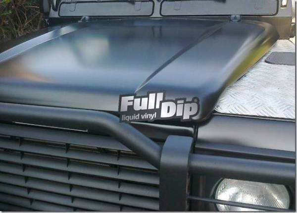 Full Dip Spray NERO OPACO