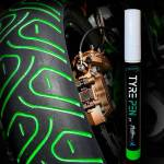 TYRE PEN Full Dip VERDE LIME