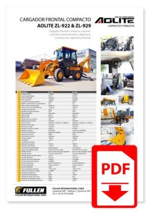 Catálogo Montacargas LiuGong CLG2050H - 2160H