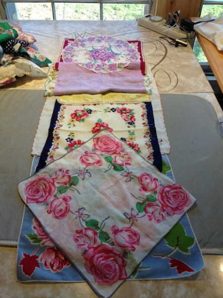 Designing a scarf