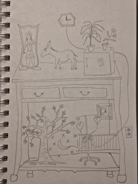 Waiting Room Drawing II