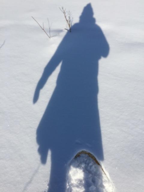 sno shoe shadow