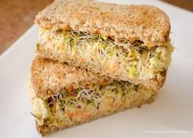 Better Than Tuna Chickpea Salad Sandwich