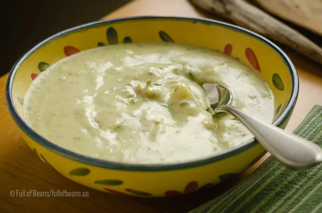 Creamy Broccoli Soup – Vegan And Dairy-free