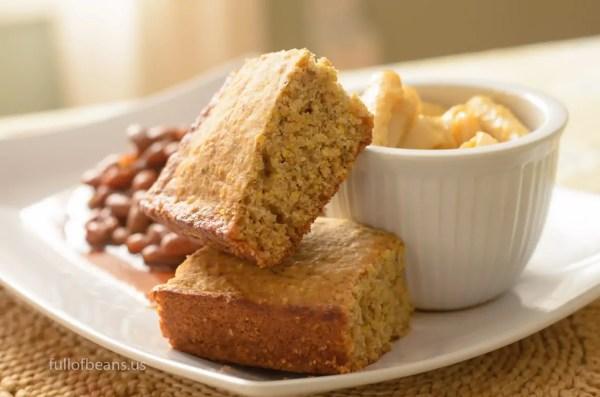 Vegan Cookout Food: The Best Cornbread Ever
