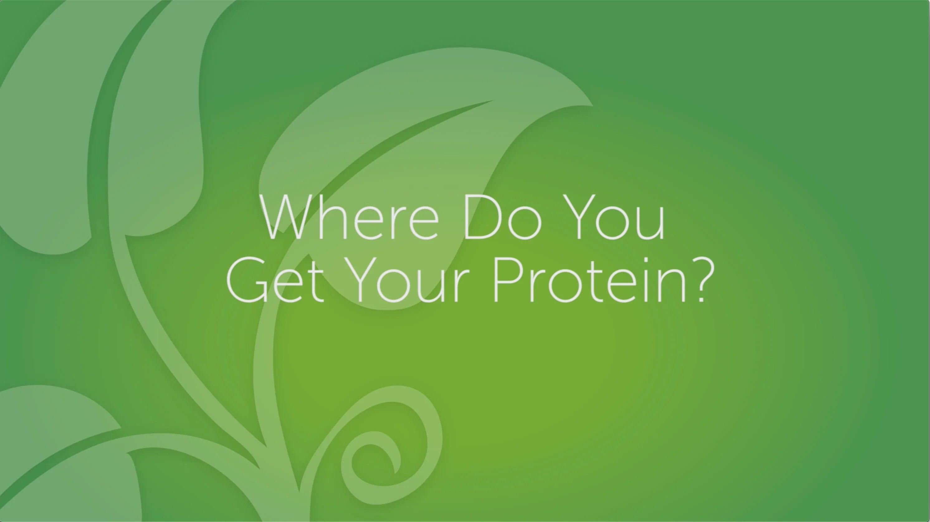 Do YOU Get Enough Protein?