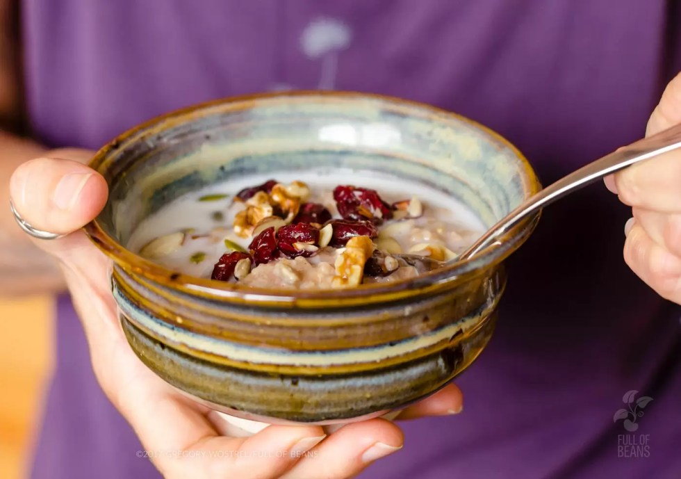 Steel-cut oats in no time with the Instant Pot