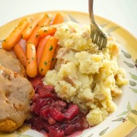 Garlicky Mashed Red Potatoes
