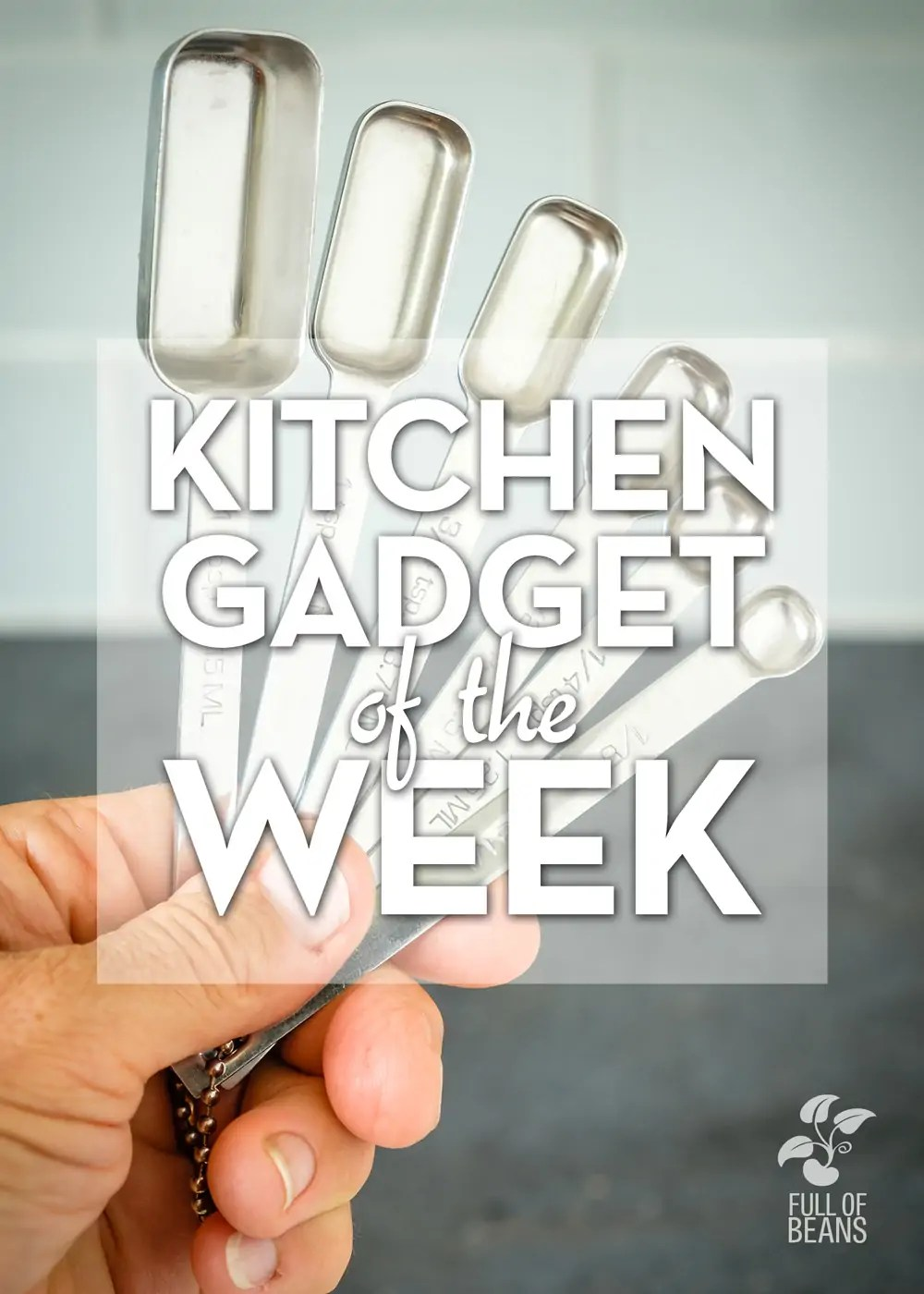 Kitchen Gadget Of The Week Feature - Rectangular Measuring Spoons