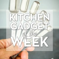 Kitchen Gadget of the Week: Rectangular Measuring Spoons