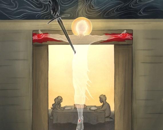 Exodus 12:46 + John 19:36