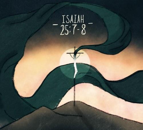 Isaiah 25:7-8