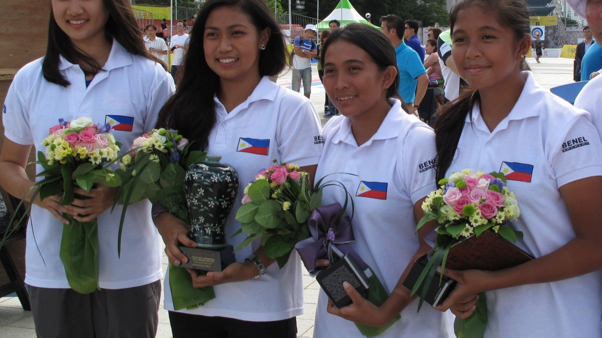 Gotuaco powers Phl junior archers to bronze in Seoul meet