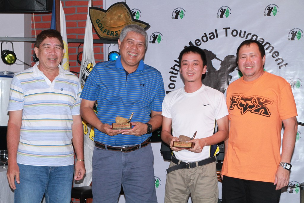 Class C winners lowest gross Edwin Robin and lowest net Richard Tan.