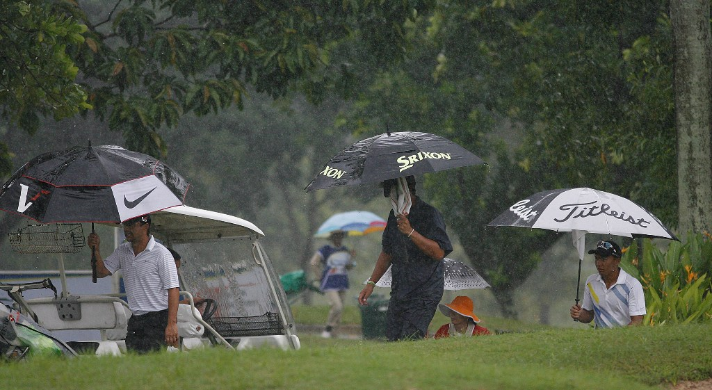 Gialon stays 3-up as 'Mario' washes out 3rd round
