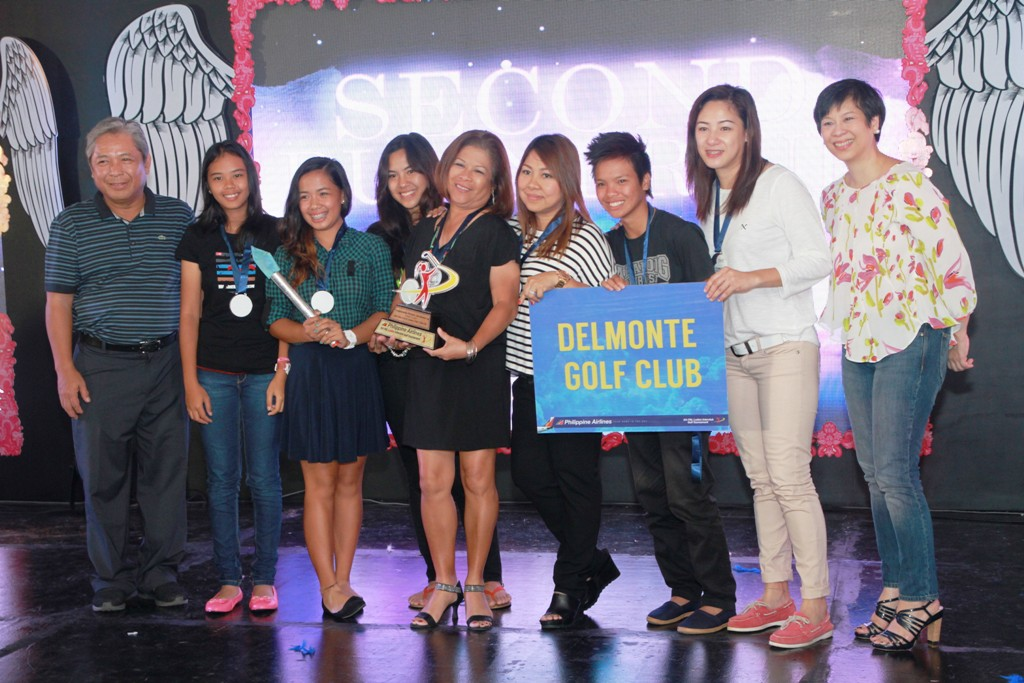 Del Monte Golf Club finished as 2nd runner-up of the Championship Division.