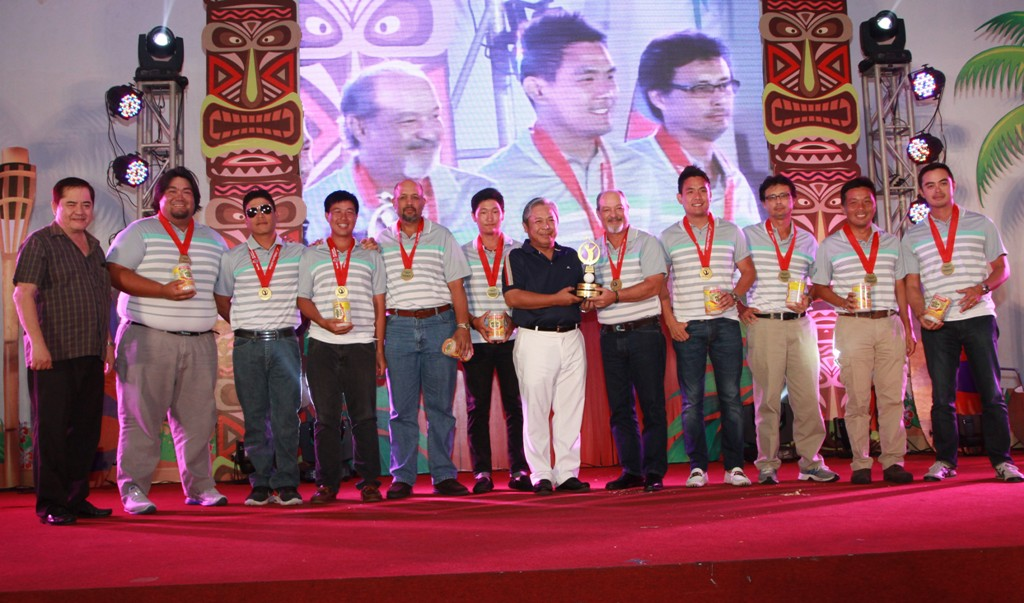 Cebu Country Club finished third in the Championship Division.