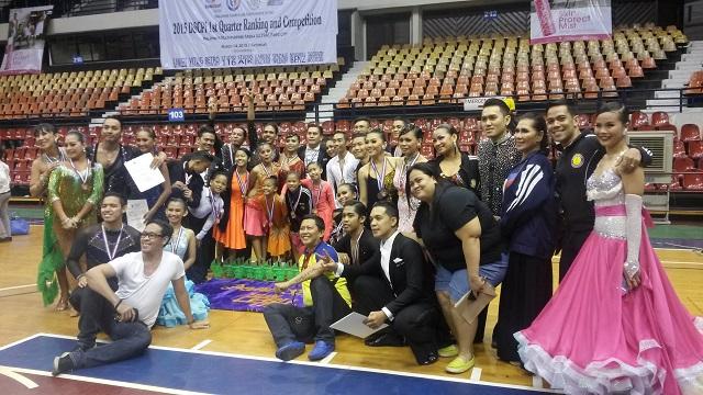 Dancesports Team Cebu City (Photo By Mars G. Alison)