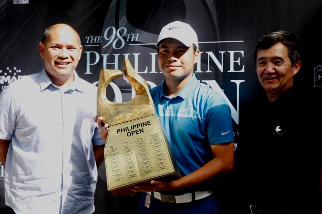 Fiery finish nets Tabuena Phl Open crown