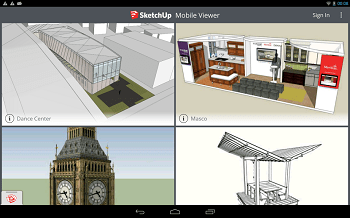 SketchUp Mobile Viewer Apk Full 3.0 Android