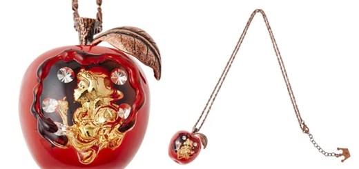白雪姫の毒リンゴがネックレスになって発売!「Disney Story Dreamed by Q-pot.」の「Snow White Collection ~白雪姫~」がデビュー!