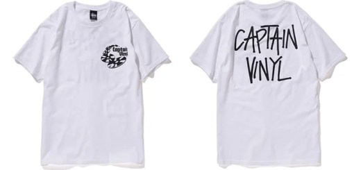 4/4,4/5限定!ステューシー (STUSSY) × CAPTAIN VINYLとの限定カラーTEEが発売!