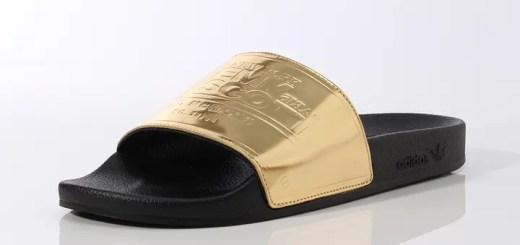 豪華なサンダル!アディダス オリジナルス バイ ジェレミー・スコット アディレッタ プレイグ (adidas Originals by JEREMY SCOTT ADILETTE PLAQUE)