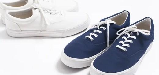 マリンルックには最適な「nc deck shoes」がロンハーマン (RHC Ron Herman)から発売!