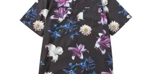 ステューシー (STUSSY)からプルオーバータイプの花柄シャツ「Flower Pullover Shirt」が発売!