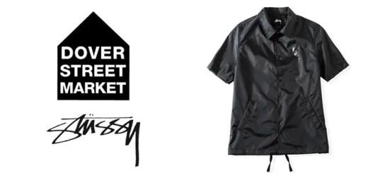 ステューシー × ドーバーストリートマーケットがコラボが発表!まずはコーチジャケット! (STUSSY × DOVER STREET MARKET DSM)