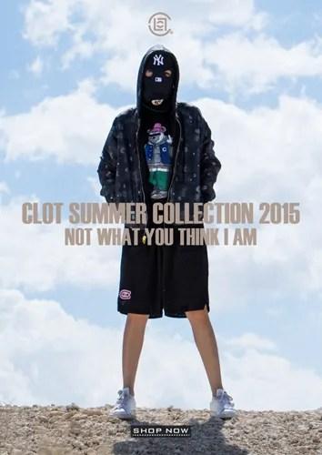 台湾アパレルブランド「クロット (CLOT)」の2015年 サマーコレクションが発売! (CLOT 2015 SUMMER COLLECTION)