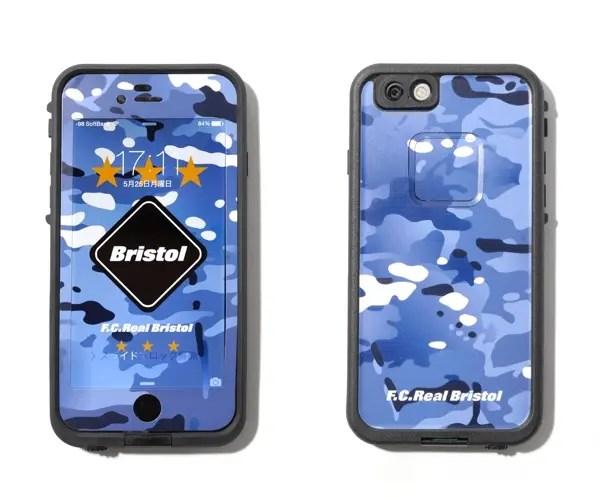 F.C.R.B. × 防水防塵防雪耐衝撃のiPhone6 / iPhone6 Plus用ケース「LIFEPROOF」が6/13から発売!