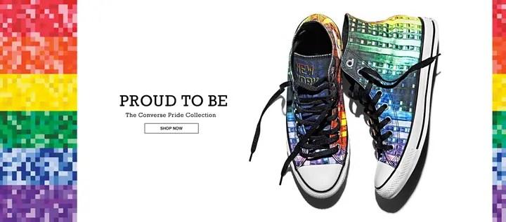 コンバース (CONVERSE)から、全米LGBTプライドモデル「オールスター チャックテイラー」が発売! (ALL STAR CHUCK TAYLOR)