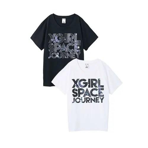 今期は宇宙柄が大人気のエックスガール (X-girl)から、「SPACE JOURNEY S/S BIG TEE」が6/12から発売!