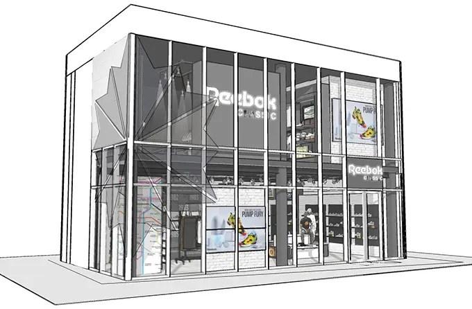 リーボック クラシック初の直営店「リーボック クラシック ストア 原宿(Reebok CLASSIC Store Harajuku)」が原宿に7/10からオープン!