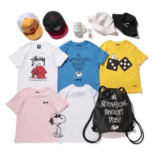 スヌーピーとステューシー キッズがコラボ!Tシャツ、キャップ、グッズ等が7/3から発売! (STUSSY KIDS PEANUTS)