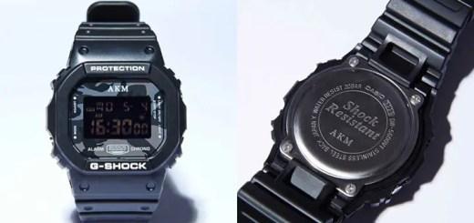 10月発売!AKM 10周年記念、コラボG-SHOCKが発売!(DW-5600 Gショック ジーショック)