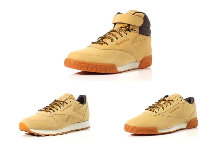 リーボックからウィート素材の「WHEAT PACK」が発売中! (REEBOK WHEAT PACK CL LEATHER/EXOFIT PLUS LOW HI) [M49995] [M49996] [M49997]