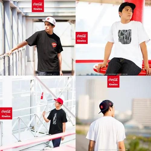 キネティクス × コカコーラのコラボ「Coca-Cola for Kinetics」が8/7から発売!