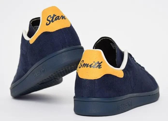イエローのヒールがインパクト大!フェルトアッパーのアディダス オリジナルス スタンスミスが登場! (adidas Originals STANSMITH) [B24707]