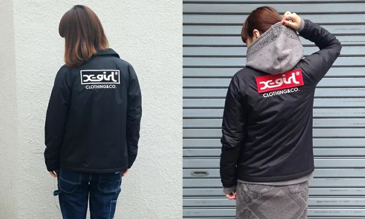 2015年モデルのX-girl LOGO COACH JACKETが予約開始! (エックスガール)