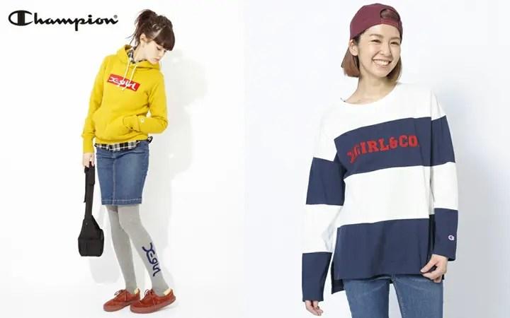 人気コラボ!X-girl × CHAMPIONが発売! (エックスガール チャンピオン)
