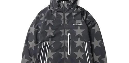 アトモス × コロンビア「Decruz Summit Jacket BLACK PATTERN」が9/19から発売!(atmos Columbia)