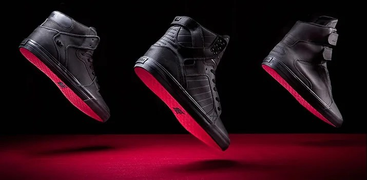 スープラ レッド カーペット シリーズが発売!(SUPRA RED CARPET SKYTOP/VAIDER/SOCIETY Ⅱ/SHREDDER) [S18187] [S28192] [S34137] [S47501]