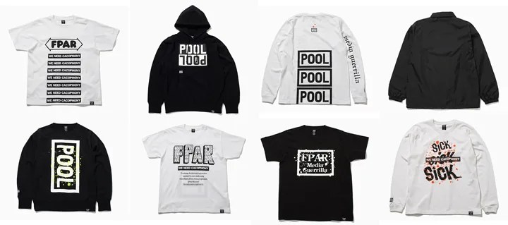 the POOL aoyama × FORTY PERCENTS AGAINST RIGHTSコラボ再び!2015年秋モデルがリリース (ザ・プール 青山 フォーティー パーセント アゲインスト ライツ)
